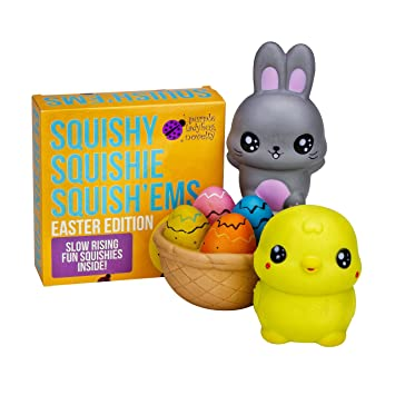 Purple ladybug novelty slow rising easter bunny friends jumbo purple ladybug novelty slow rising easter bunny friends jumbo squishies pack in gift worthy box negle Gallery