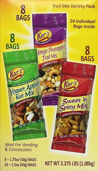 Top 10 Yogurt Apple Nut Mix