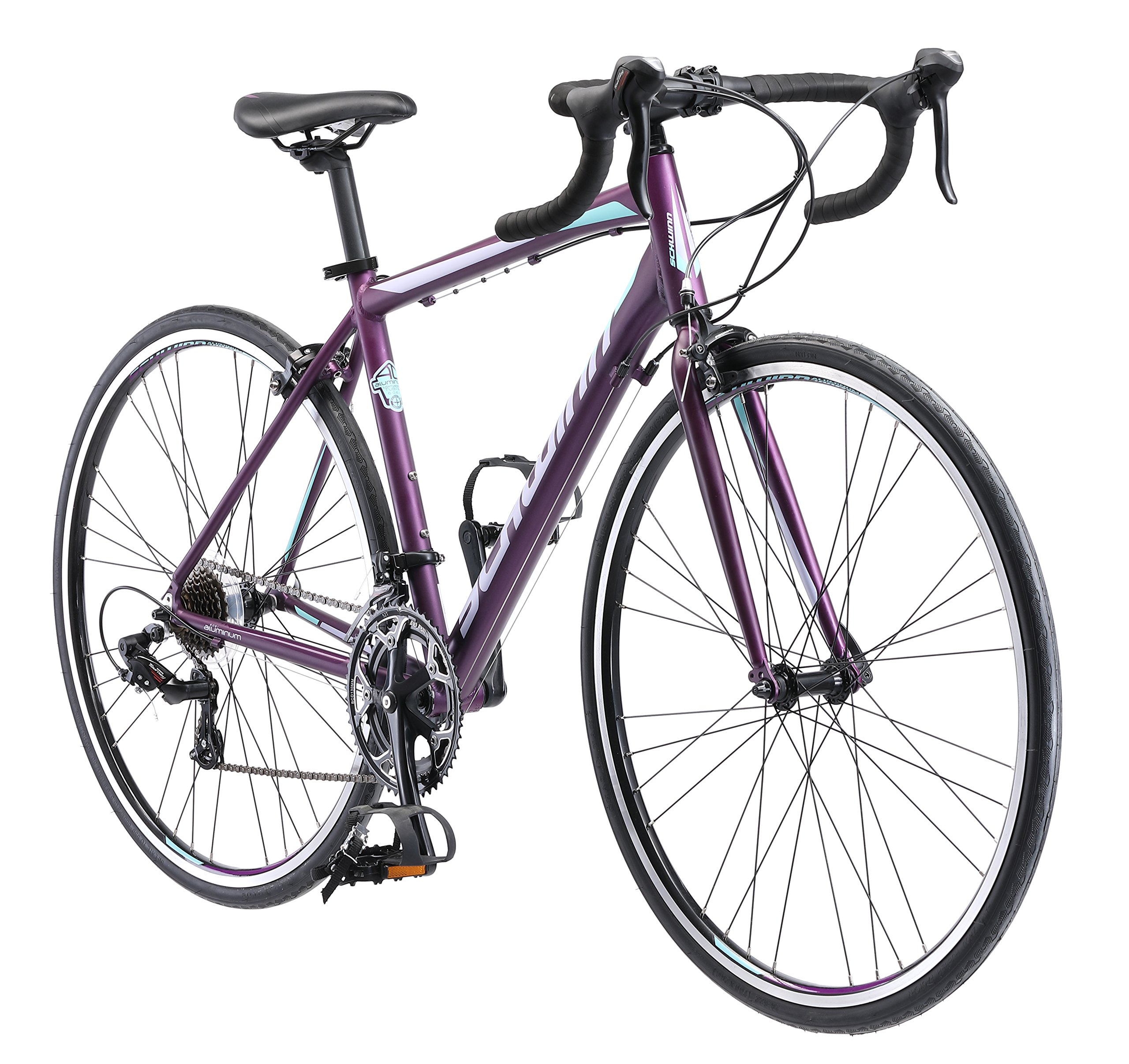 Schwinn Volare 1400 Road 700C Wheel Bicycle, Matte Purple, 48 cm/One Size by Schwinn (Image #1)