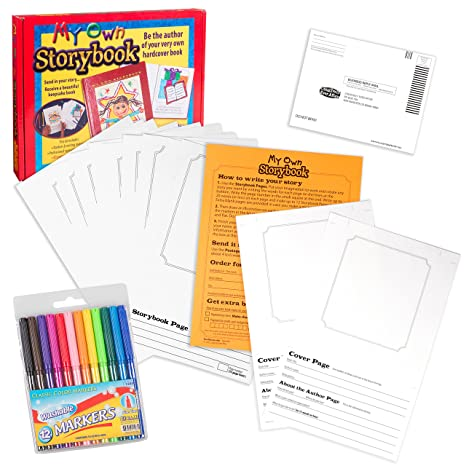 amazon com storybook kit my own storybook create your own
