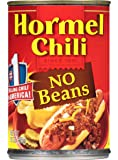 Hormel Chili No Beans, 15-Ounce (Pack of 6)