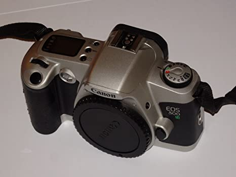 Canon EOS 500 N - SLR Cámara - Color Plata/Negro - Cámara Réflex ...