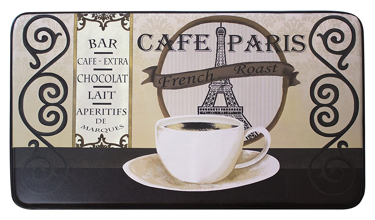 Chef Gear Cafe Paris Printed Anti-Fatigue 24