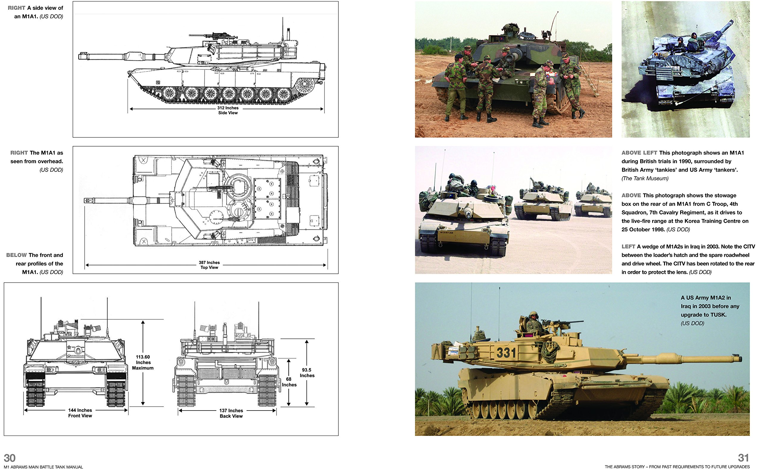 amazon m1 abrams main battle tank manual from 1980 m1 m1a1 and