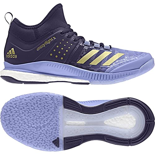 adidas Crazyflight X Mid W, Scarpe da Pallavolo Donna, Blu
