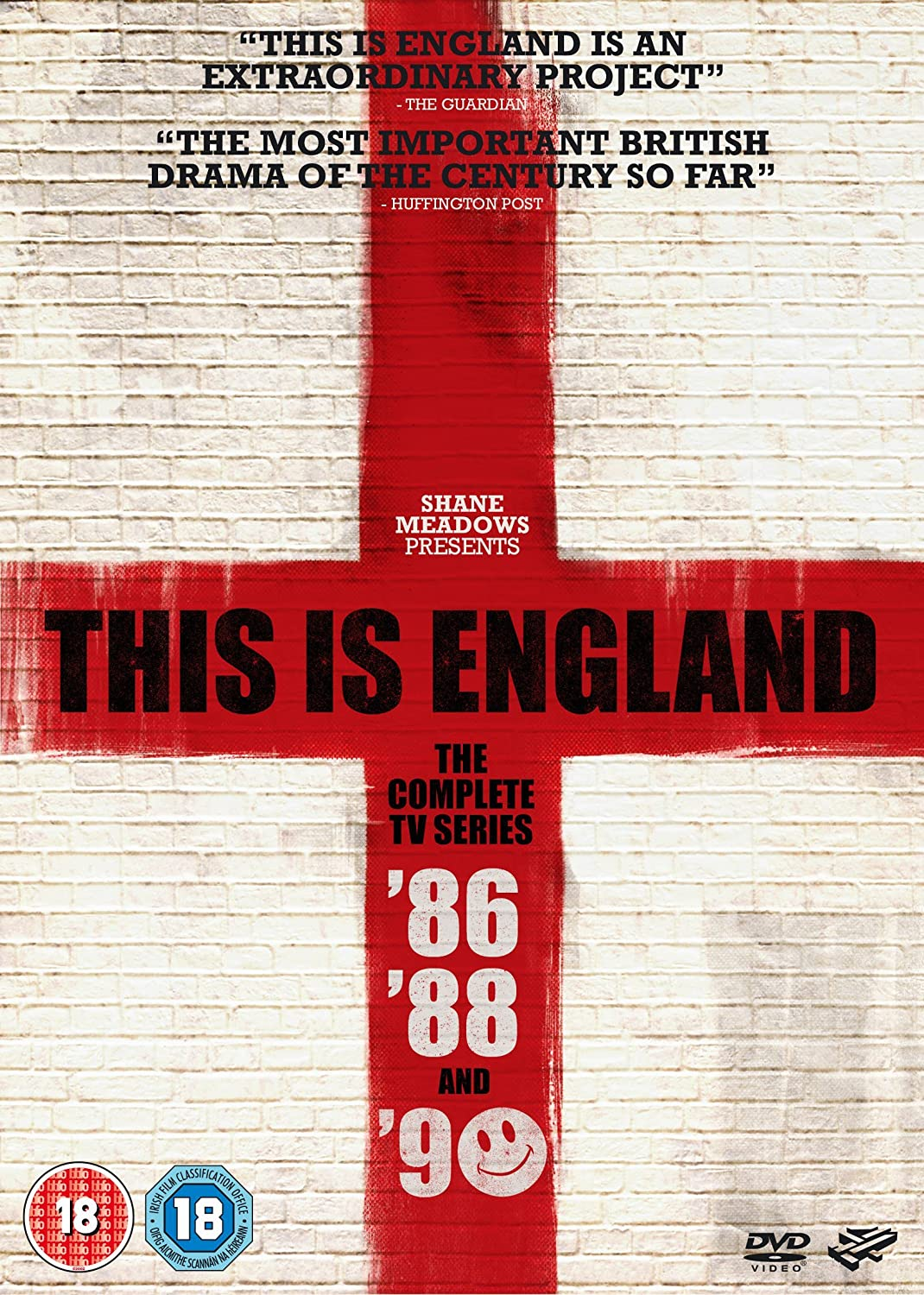 This Is England Complete Tv Series 86 90 5 Dvd Box Set This Is England 86 This Is England 88 This Is England 90 Non Usa Format Pal