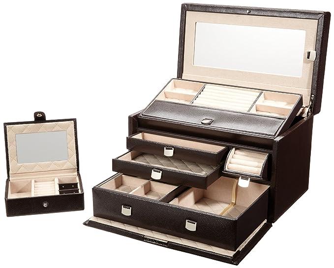 Amazon.com: Wolf London Medium caja de joyería – X 8H en ...