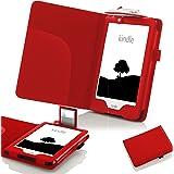 """Forefront Cases® Nuovo E-reader Kindle, schermo touch da 6"""" (15,2 cm) (Luglio 2016 - 8ª Generazione) Case Cover Custodia Caso Conchiglia in pelle con luce di lettura a LED - Protezione dispositivo completa"""