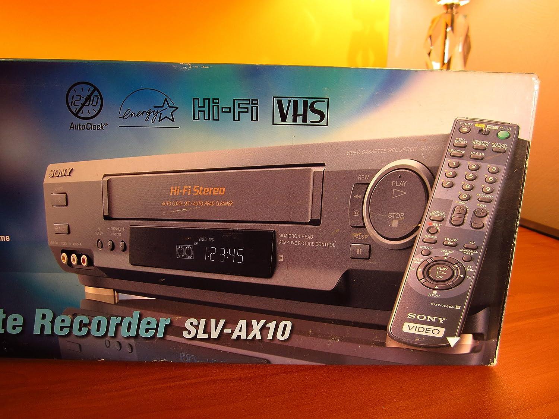 Sony SLV-AX10 VCR