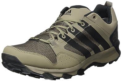 adidas Kanadia 7 TR GTX, Chaussures de Trail Homme, Multicolore (Grey Three/Core Black/Semi Solar Yellow), 40 2/3 EU