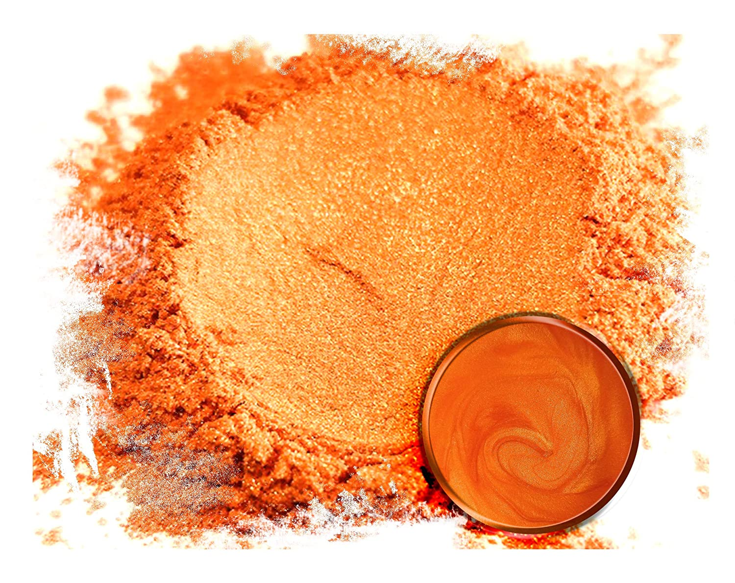 Eye Candy Mica Powder PigmentRainbow Orange (50g) Multipurpose DIY Arts and Crafts Additive | Natural Bath Bombs, Resin, Paint, Epoxy, Soap, Nail Polish, Lip Balm Eye Candy Customz