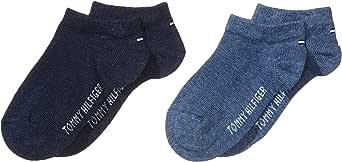 Tommy Hilfiger Calcetines de Ribetes de Punto Elástico (Pack de 2) para Niñas