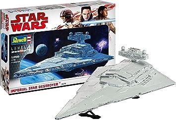 Oferta amazon: Revell Maqueta Wars Imperial Star Destroyer, Kit Modelo, Escala 1:2700 (6719)(06719), 60,0 cm de Largo