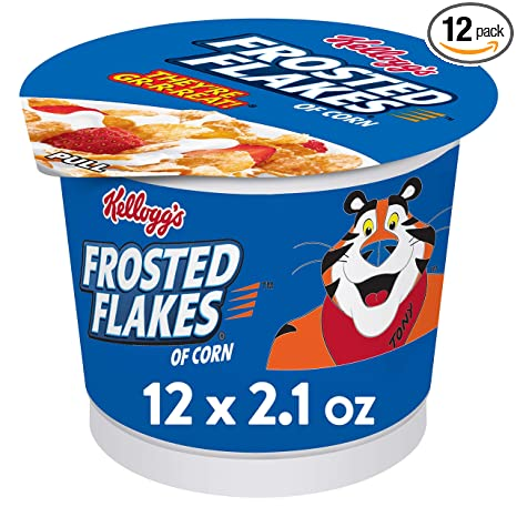 Kelloggs Frosted Flakes Packet embossed metal sign  400mm x 300mm na