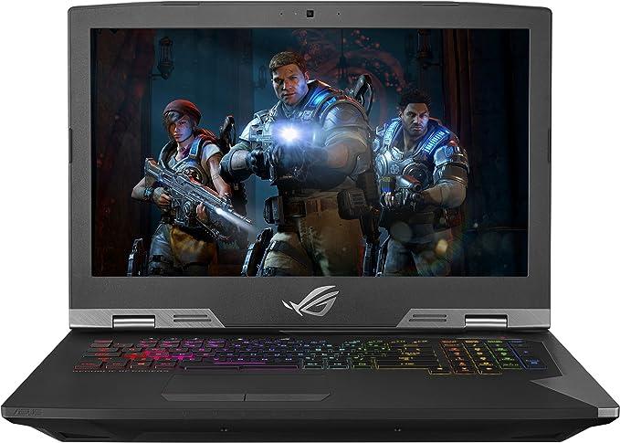 Asus – ROG 17.3 Laptop – Intel Core i7 – 32 GB Memory – NVIDIA GeForce GTX 1080 – 1TB Hybrid Drive + 512 GB SSD – Silver
