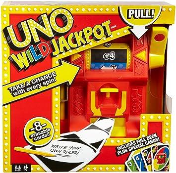 Amazon Mattel Games Uno Wild Jackpot Game Toys Games