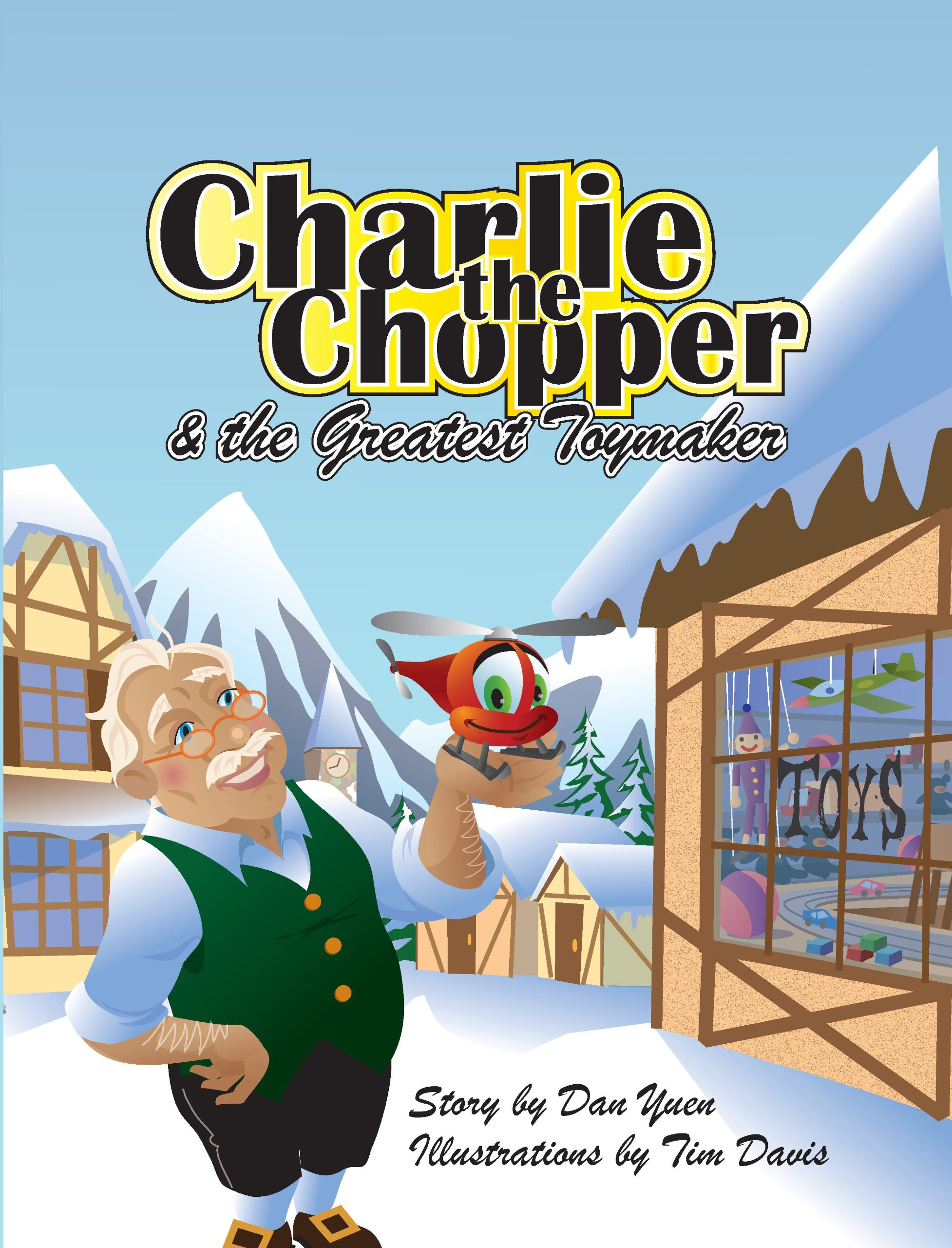 Download Charlie the Chopper and the Greatest Toymaker pdf