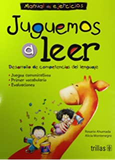 Juguemos a leer/ Lets play to read: Construccion de competencias comunicativas. Libro de