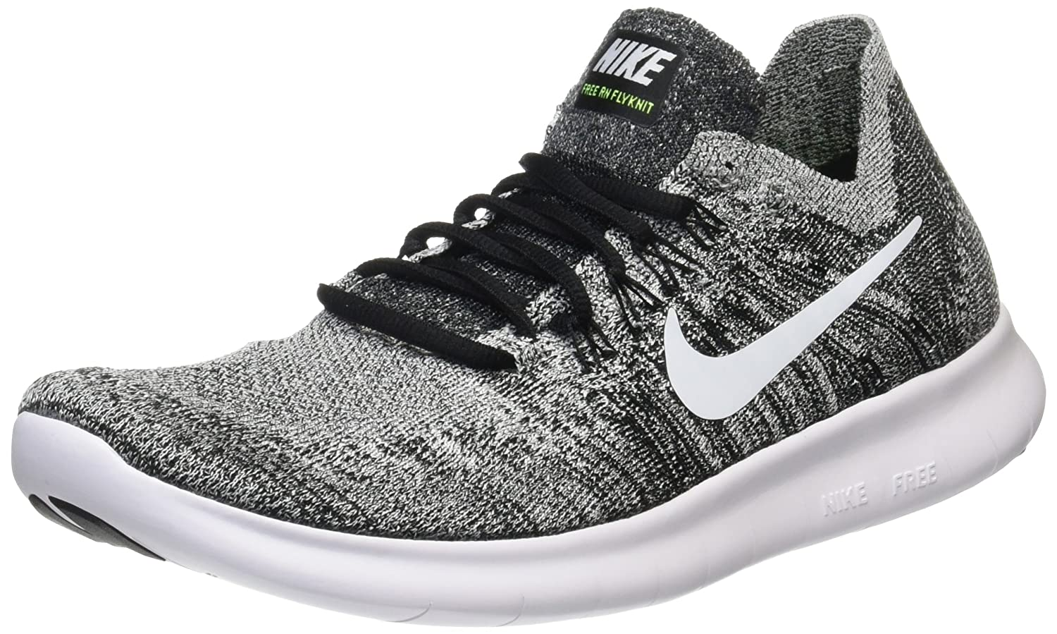 e656a2d4ffc8 Nike Men s Laufschuh Free Run Flyknit 2018 Shoes Black  Amazon.co.uk  Shoes    Bags