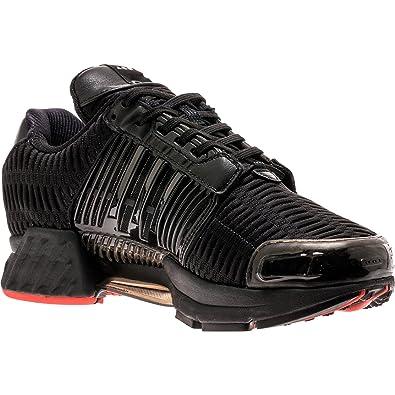 newest f8c5f cdda2 adidas Mens Clima Cool 1 Shoe Gallery BlackRed Leather Size 12