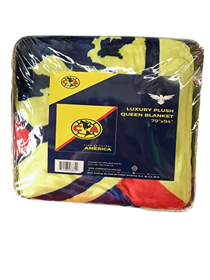 125d7313bed Amazon.com: Club America Luxury Plush Queen Blanket (79