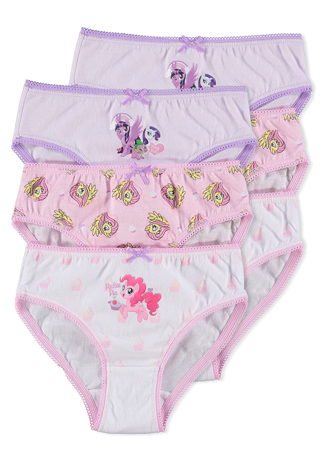 My Little Pony Girls Underwear | Briefs 6-Pack Jellifish Kids