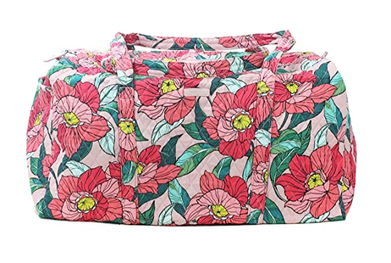 9b5a4c23b3 Image Unavailable. Image not available for. Color  Vera Bradley Vintage  Floral Large Duffel