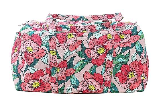 4b975408ec64 Image Unavailable. Image not available for. Color  Vera Bradley Vintage  Floral Large Duffel