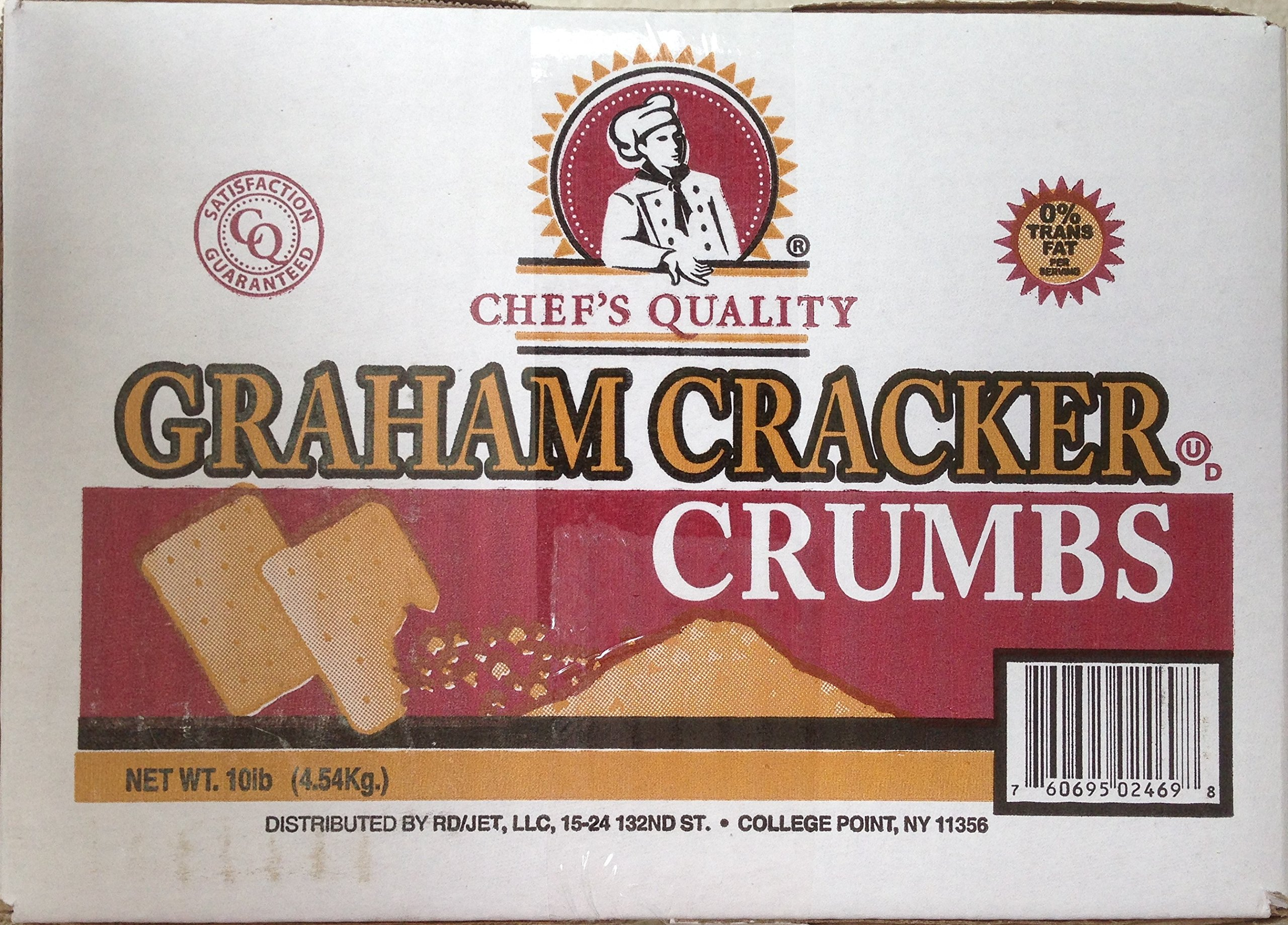 Chef's Quality: Graham Cracker Crumbs 10 Lb.