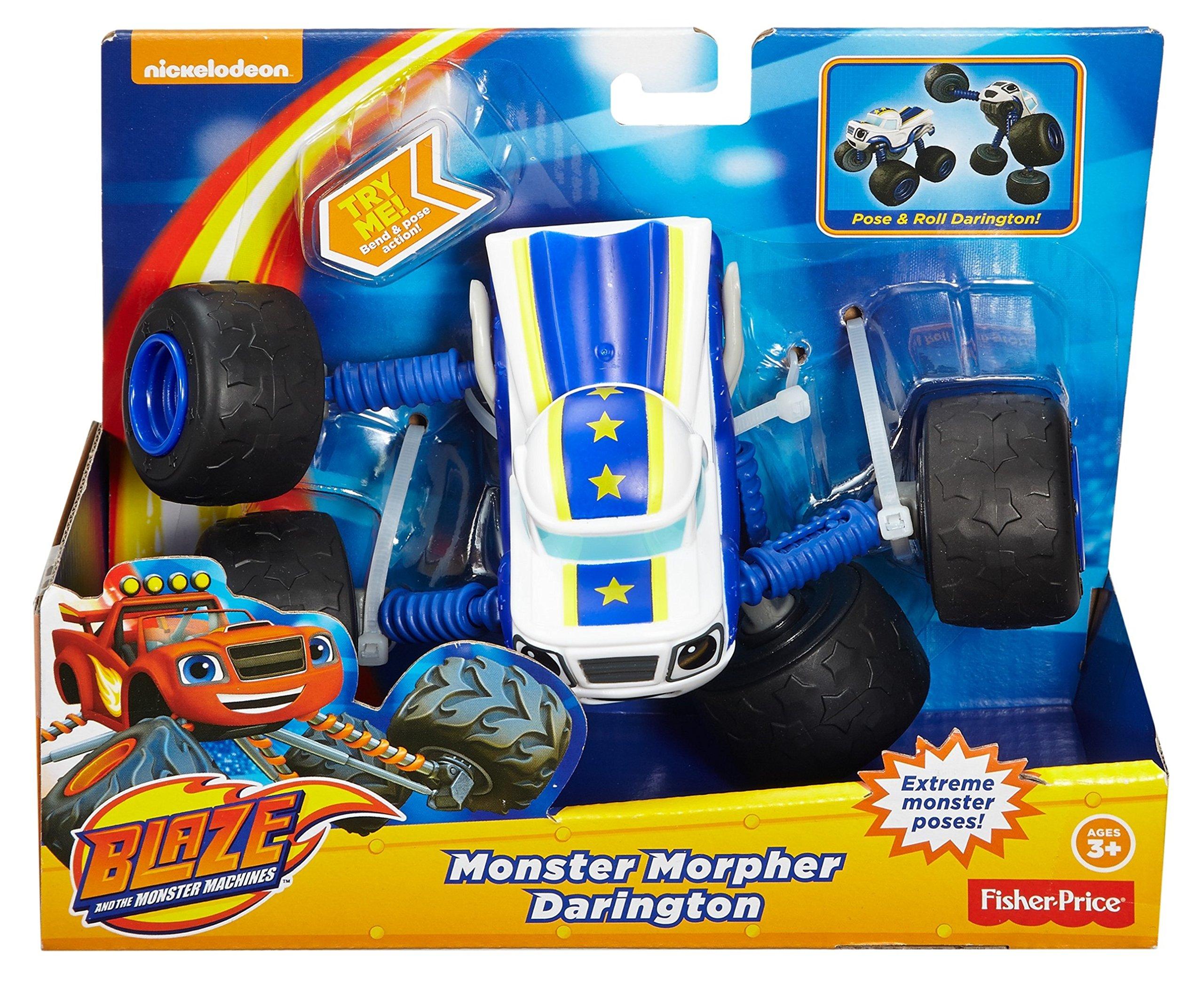 Fisher-Price Nickelodeon Blaze & the Monster Machines, Monster Morpher Darington by Fisher-Price (Image #5)