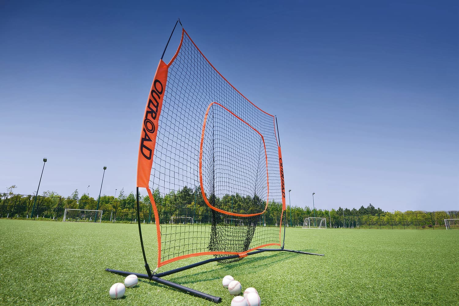 Outroad Baseball Nets For Batting Pitching 7 X 7 Portable
