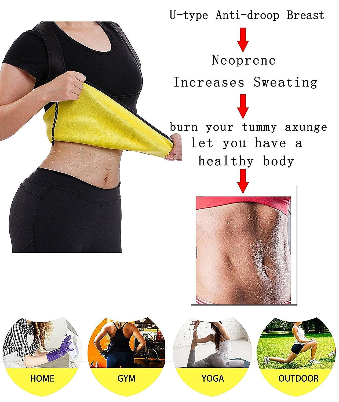 29a726593e4 Gotoly Sport Neoprene Waist Trainer Cincher Body Shaper Tummy Control Vest  Bodysuit Weight Loss  Amazon.co.uk  Clothing