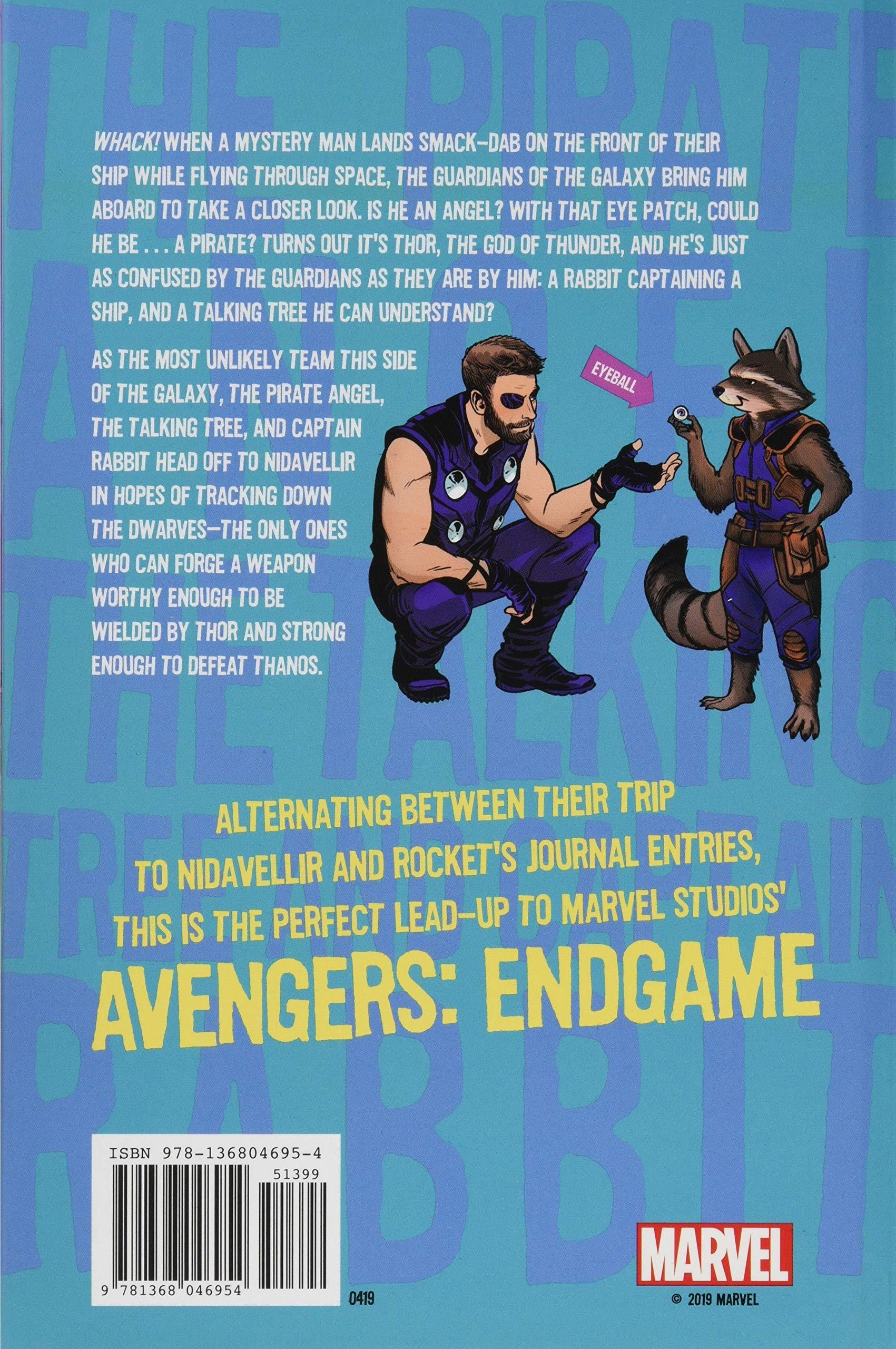 Amazon com: Avengers: Endgame The Pirate Angel, The Talking Tree