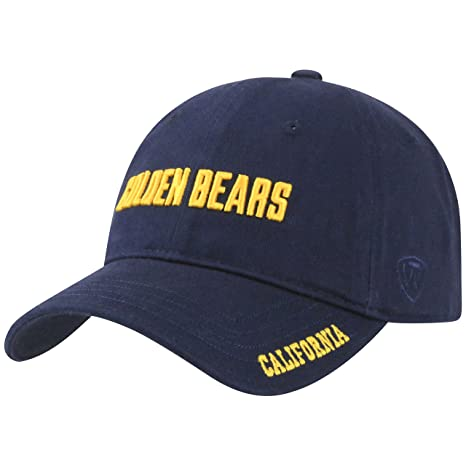 new arrival ba934 506a1 Top of the World Cal Bears Official NCAA Adjustable Stirke Hat Cap by 285863