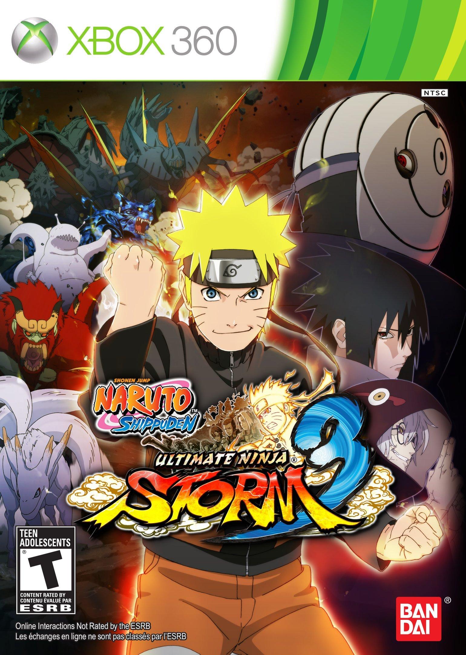Amazon.com: Naruto Shippuden: Ultimate Ninja Storm 3 - Xbox ...