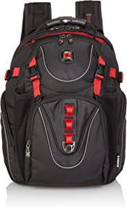 "Wenger Luggage Maxxum 16"" Laptop Backpack, Black, One Size"