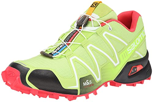 new product a7b50 a4941 Salomon Women s Speedcross 3 Trail Running Shoe, Firefly Green Black Papaya,  12