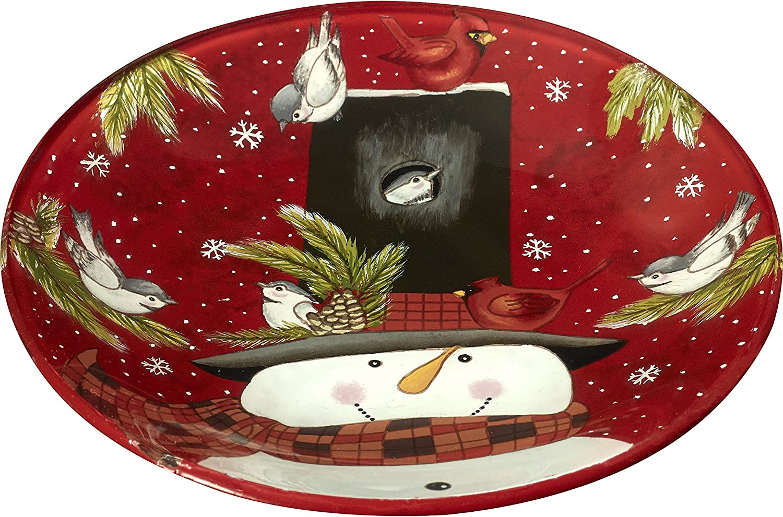 Ne'Qwa Snowman Plate
