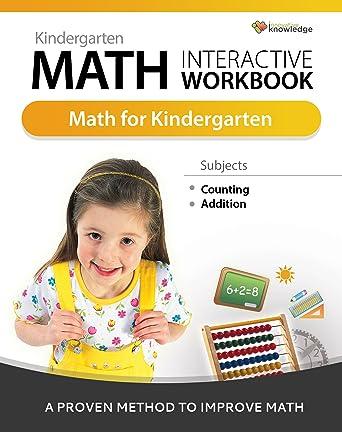 Amazoncom Kindergarten Math Interactive Workbook Online Code