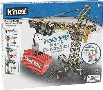 Knex Juego de construcción Grúa controlada a Partir de 9 años: Amazon.es: Juguetes y juegos