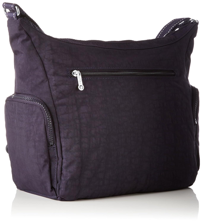 c3bb3d234 Kipling Gabbie, Women's Cross-Body Bag, Violett (Blue Purple C),  35.5x30x18.5 cm (B x H T)