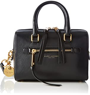 b3333a7adb1ef Marc Jacobs Women s Recruit Small Bauletto Top Handle Handbag
