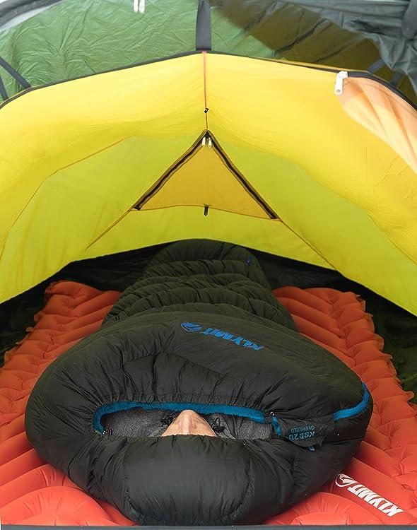Klymit KSB 20 3 Season Water Resistant Down Mummy Style Sleeping Bag