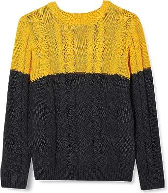 NAME IT Nmmovenne LS Knit Jersey de Punto para Niños