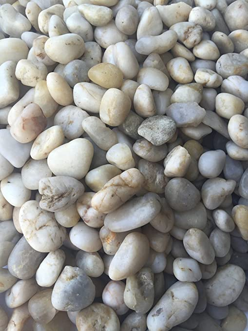 Decorative garden pebbles/river rocks used for outdoor landscaping or  indoor projects (fish tanks - Amazon.com : Decorative Garden Pebbles/river Rocks Used For Outdoor