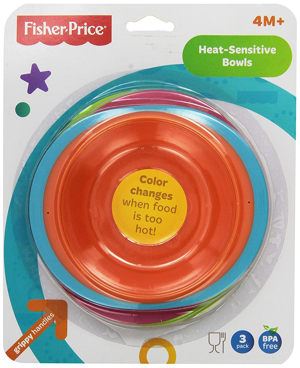 Fisher-Price Heat Sensitive Bowls by Fisher-Price   B00BV0EODC