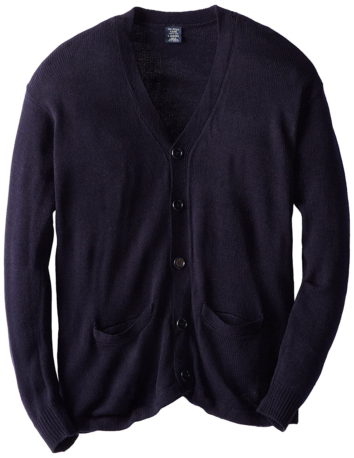 U.S. Polo Assn. Welt Pocket Cardigan Sweater