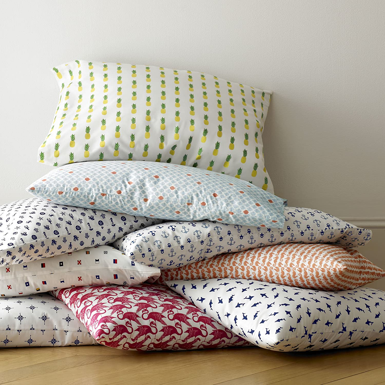 amazon com poppy u0026 fritz 220843 pineapples cotton sheet set