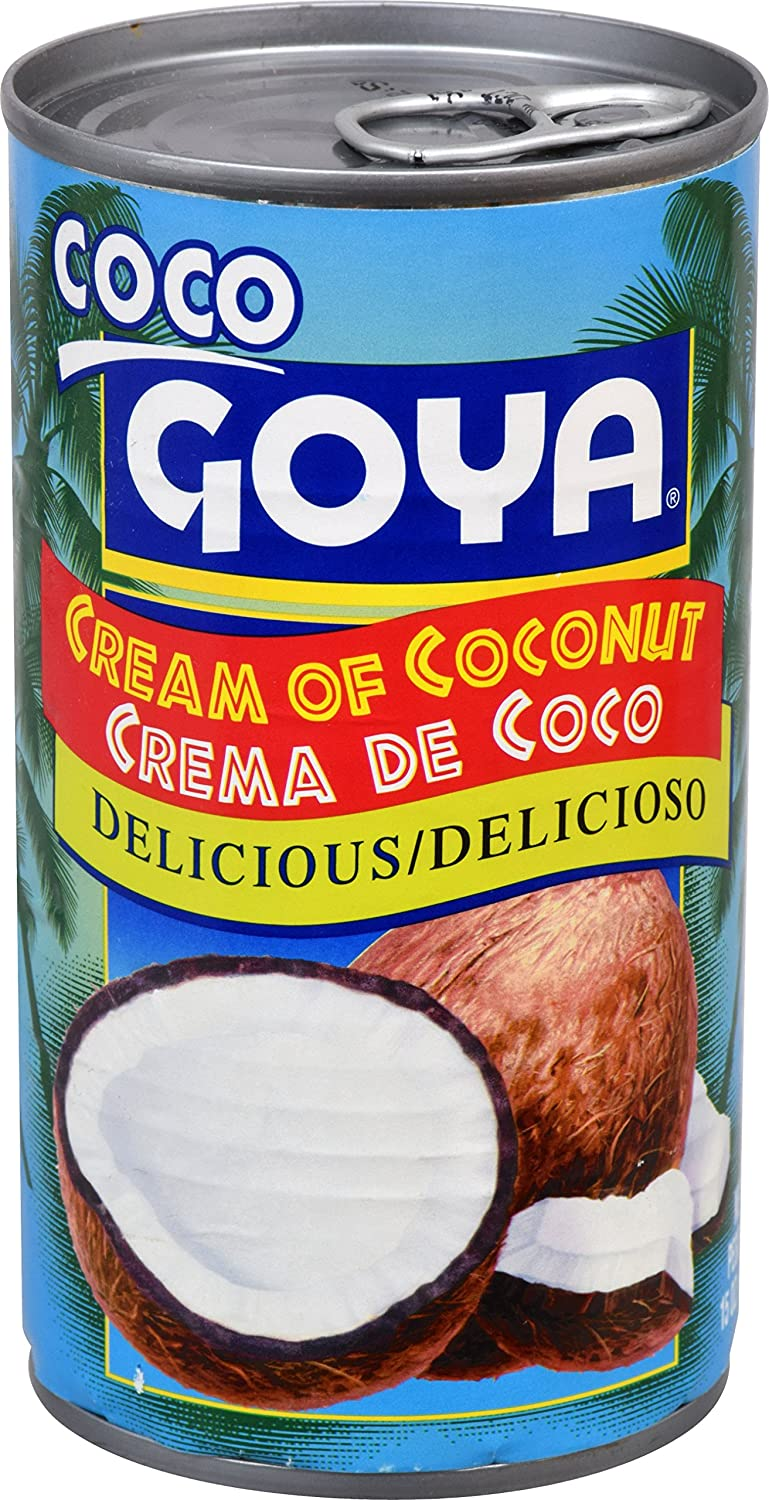 Goya Foods Cream of Coconut, 15-Ounce (Pack of 24)
