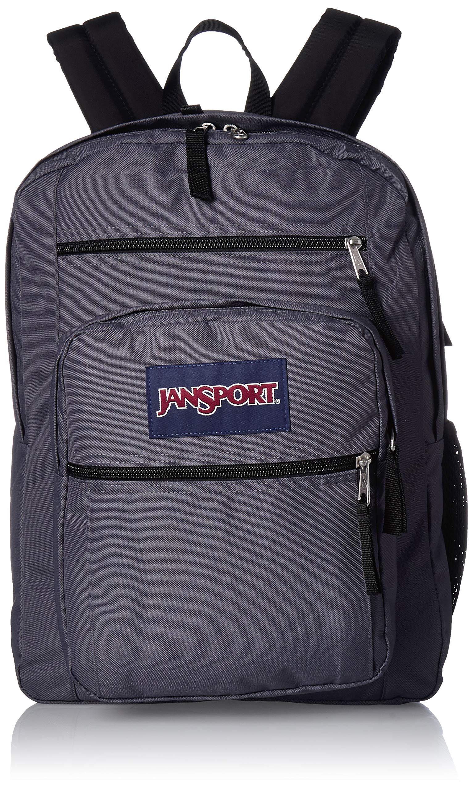 JanSport Big Student Backpack - 15-inch Laptop School Pack, Deep Grey by JanSport